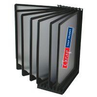 A4 Flip Display T7 Black Counter Top